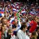 2018年世界杯期间,英格兰队在俄罗斯足球迷中名列前茅